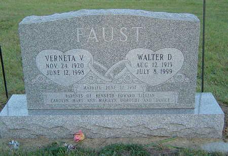 FAUST, VERNETA V. - Delaware County, Iowa | VERNETA V. FAUST