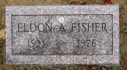 FISHER, ELDON A. - Delaware County, Iowa | ELDON A. FISHER