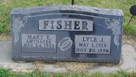 FISHER, MARY E. - Delaware County, Iowa | MARY E. FISHER
