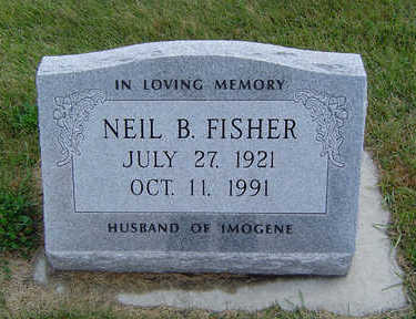 FISHER, NEIL B. - Delaware County, Iowa | NEIL B. FISHER