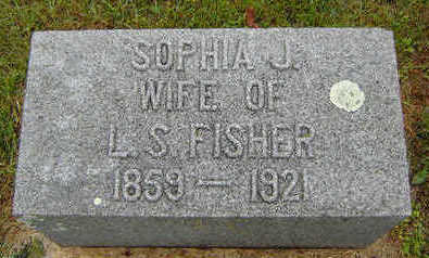 HESNER FISHER, SOPHIA J. - Delaware County, Iowa | SOPHIA J. HESNER FISHER