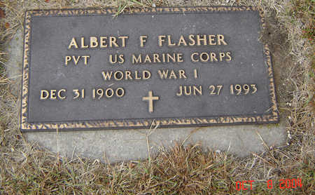 FLASHER, ALBERT F. - Delaware County, Iowa | ALBERT F. FLASHER