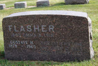 FLASHER, GUSTAVE H. - Delaware County, Iowa | GUSTAVE H. FLASHER