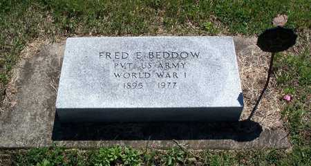 FRED E., BEDDOW - Delaware County, Iowa | BEDDOW FRED E.