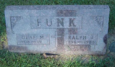 FUNK, OLAF M. - Delaware County, Iowa | OLAF M. FUNK