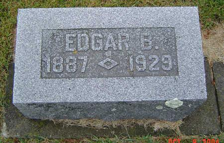 GATES, EDGAR B. - Delaware County, Iowa | EDGAR B. GATES