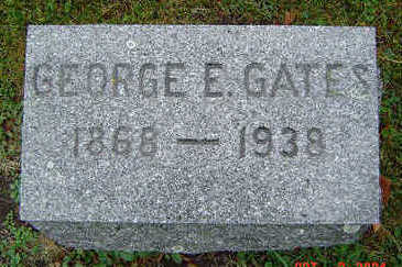 GATES, GEORGE E. - Delaware County, Iowa | GEORGE E. GATES