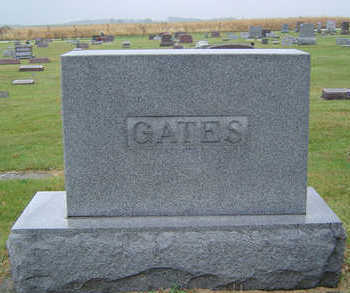 BRISTOL GATES, ELLA MARY - Delaware County, Iowa | ELLA MARY BRISTOL GATES