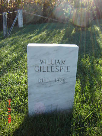 GILLESPIE, WILLIAM - Delaware County, Iowa | WILLIAM GILLESPIE