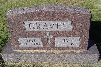 GRAVES, MARY - Delaware County, Iowa | MARY GRAVES