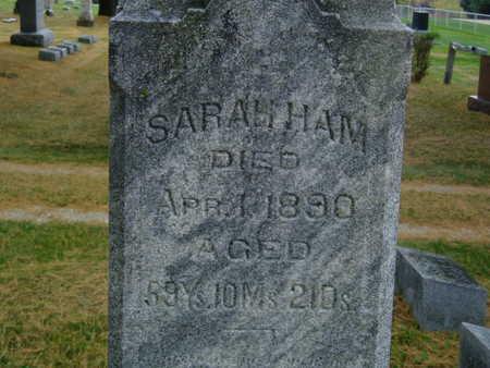 HAM, SARAH - Delaware County, Iowa | SARAH HAM