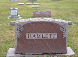 HAMLETT, ANNA ELIZABETH - Delaware County, Iowa | ANNA ELIZABETH HAMLETT