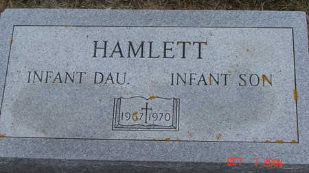 HAMLETT, INFANT SON - Delaware County, Iowa | INFANT SON HAMLETT