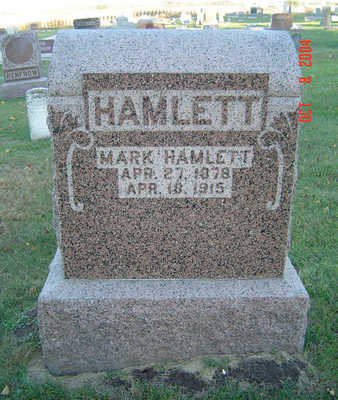 HAMLETT, MARK - Delaware County, Iowa | MARK HAMLETT