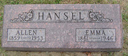 HANSEL, ALLEN - Delaware County, Iowa | ALLEN HANSEL