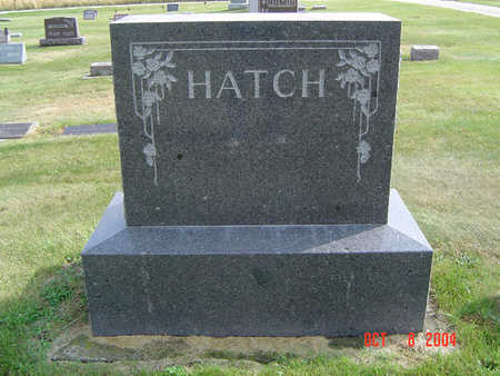 HATCH, MARY ELLA - Delaware County, Iowa | MARY ELLA HATCH