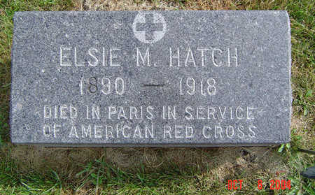 HATCH, ELSIE M. - Delaware County, Iowa | ELSIE M. HATCH