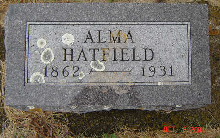 HATFIELD, ALMA - Delaware County, Iowa | ALMA HATFIELD