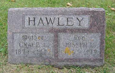 WHEELER HAWLEY, GRACE L. - Delaware County, Iowa | GRACE L. WHEELER HAWLEY