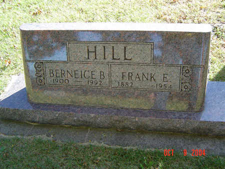 HILL, FRANK E. - Delaware County, Iowa | FRANK E. HILL