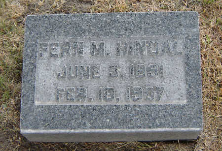 HINDAL, FERN M. - Delaware County, Iowa | FERN M. HINDAL