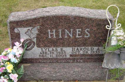 HINES, LYLAS E. - Delaware County, Iowa | LYLAS E. HINES