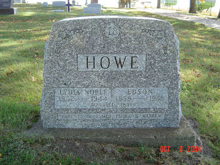 NOBLE HOWE, LYDIA - Delaware County, Iowa | LYDIA NOBLE HOWE