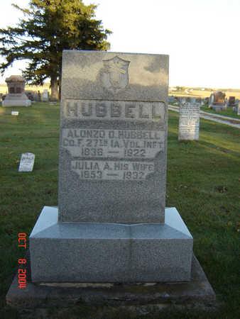 TEMPLE HUBBELL, JULIA A. - Delaware County, Iowa | JULIA A. TEMPLE HUBBELL