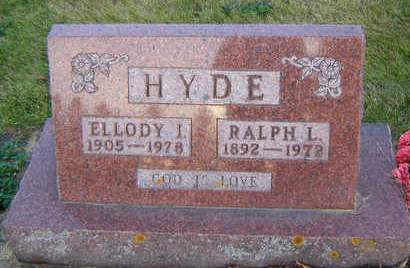 HYDE, RALPH - Delaware County, Iowa | RALPH HYDE