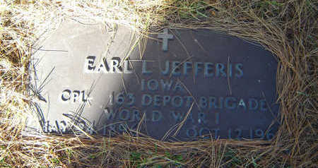JEFFERIS, EARL L. - Delaware County, Iowa | EARL L. JEFFERIS
