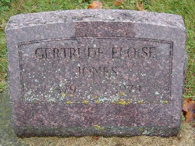 PHELPS JONES, GERTRUDE ELOISE - Delaware County, Iowa | GERTRUDE ELOISE PHELPS JONES