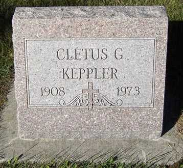 KEPPLER, CLETUS G. - Delaware County, Iowa | CLETUS G. KEPPLER