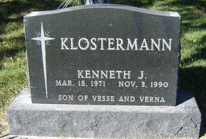 KLOSTERMAN, KENNETH J. - Delaware County, Iowa   KENNETH J. KLOSTERMAN