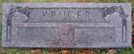 BISHOP KRUGER, RUTH E. - Delaware County, Iowa | RUTH E. BISHOP KRUGER