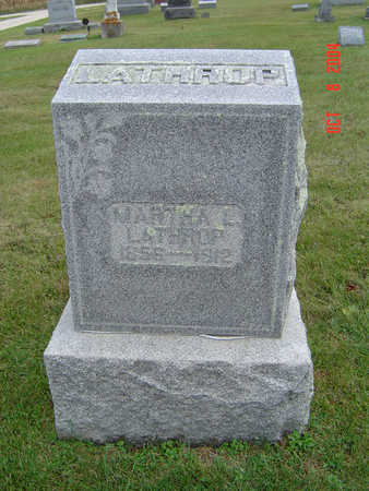 GRAVES LATHRUP, MARTHA L. - Delaware County, Iowa | MARTHA L. GRAVES LATHRUP