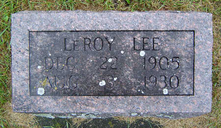 LEE, LEROY - Delaware County, Iowa | LEROY LEE