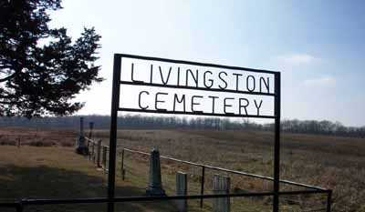 LIVINGSTON, CEMETERY - Delaware County, Iowa | CEMETERY LIVINGSTON