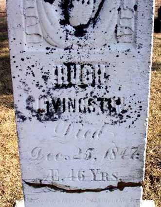 LIVINGSTON, HUGH - Delaware County, Iowa | HUGH LIVINGSTON