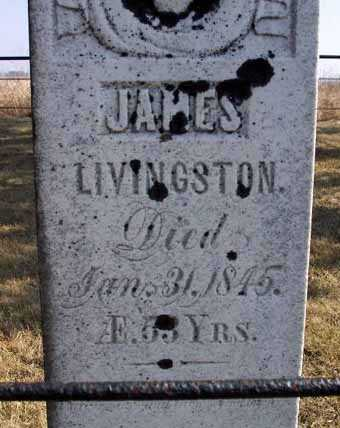 LIVINGSTON, JAMES - Delaware County, Iowa | JAMES LIVINGSTON