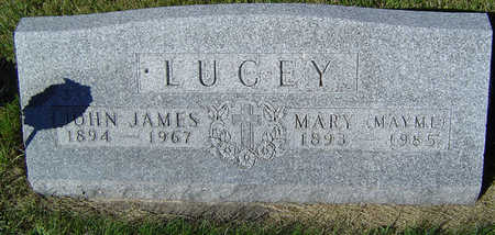 LUCEY, JOHN JAMES - Delaware County, Iowa | JOHN JAMES LUCEY