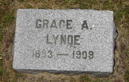 LYNDE, GRACE A. - Delaware County, Iowa | GRACE A. LYNDE