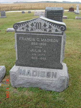 MADISON, JULIA A. - Delaware County, Iowa | JULIA A. MADISON