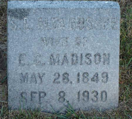 BUSHEE MADISON, S. L. ALTA - Delaware County, Iowa | S. L. ALTA BUSHEE MADISON