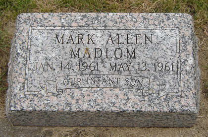 MADLOM, MARK ALLEN - Delaware County, Iowa | MARK ALLEN MADLOM