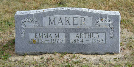 BLOCK MAKER, EMMA M. - Delaware County, Iowa | EMMA M. BLOCK MAKER