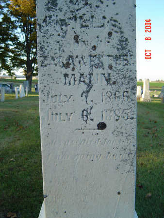 MANN, WILLIE - Delaware County, Iowa | WILLIE MANN