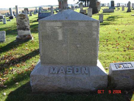 MASON, FAMILY STONE - Delaware County, Iowa | FAMILY STONE MASON