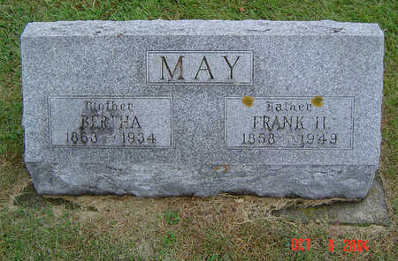 MAY, FRANK H. - Delaware County, Iowa | FRANK H. MAY
