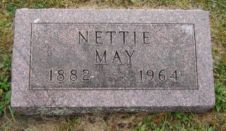 MAY, NETTIE - Delaware County, Iowa | NETTIE MAY