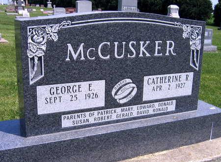 MCCUSKER, GEORGE E. - Delaware County, Iowa | GEORGE E. MCCUSKER